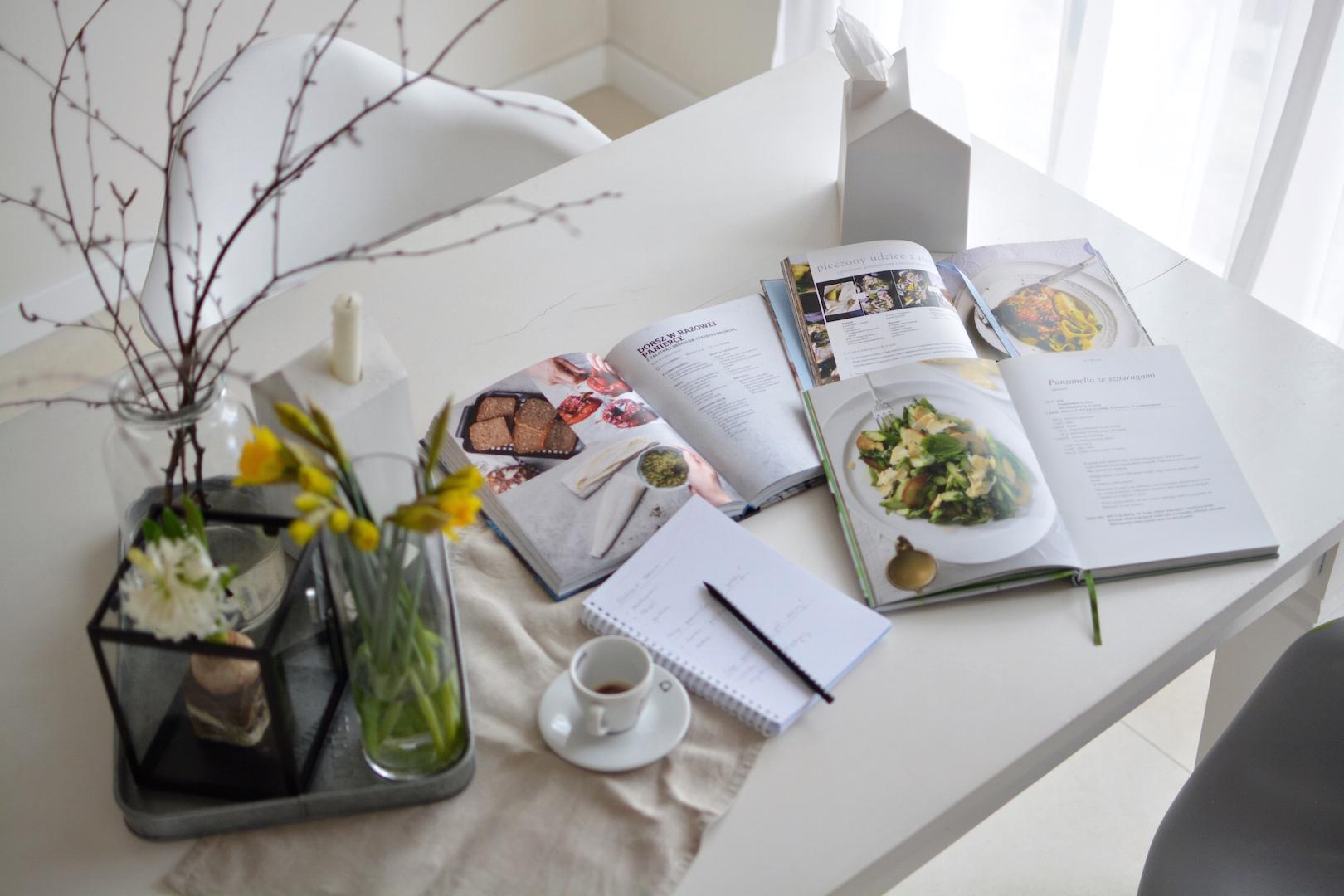 tygodniowy jadłospis, przepisy, chaos w kuchni, planowanie posiłków