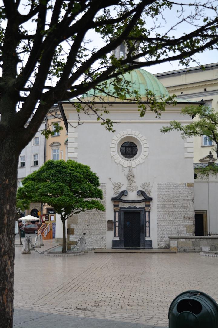 krakowski poranek, kraków, kocham kraków, stare miasto, piękny kraków, spacer po krakowie , kościół świętego wojciecha kraków
