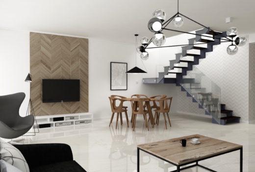 stabrawa w pracy, czyli projekt wnętrza domu w Chorzowie, projekt wnętrza domu, projektant wnętrz, nowoczesne, pracownia stabrawa.pl, pracownia projektowa