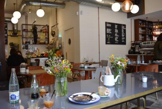 bistro auto rosellon w barcelonie , restauracja, wnętrze, loft