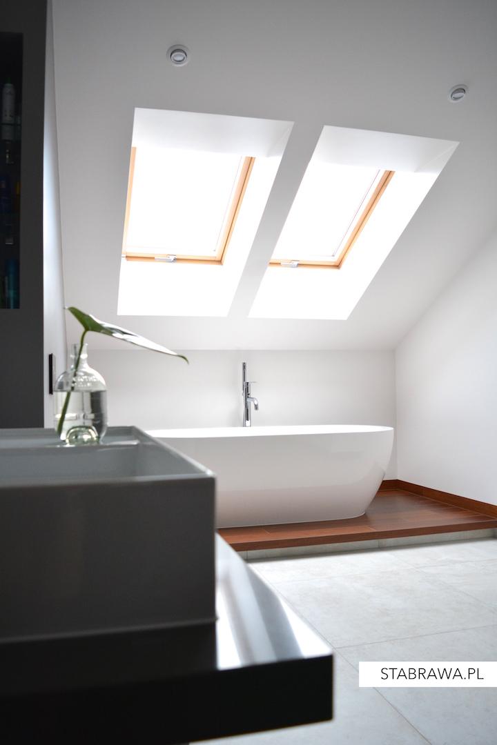 dom w chorzowie realizacja, projekt wnętrza, przytulna sypialnia, granatowa ściana,minimalizm, wnętrze minimalistyczne, łazienka nowoczesna