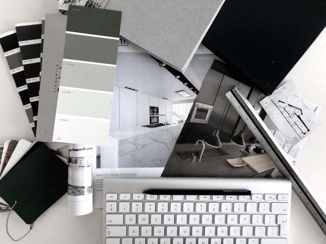 jak zaprojektować kuchnię? materiały