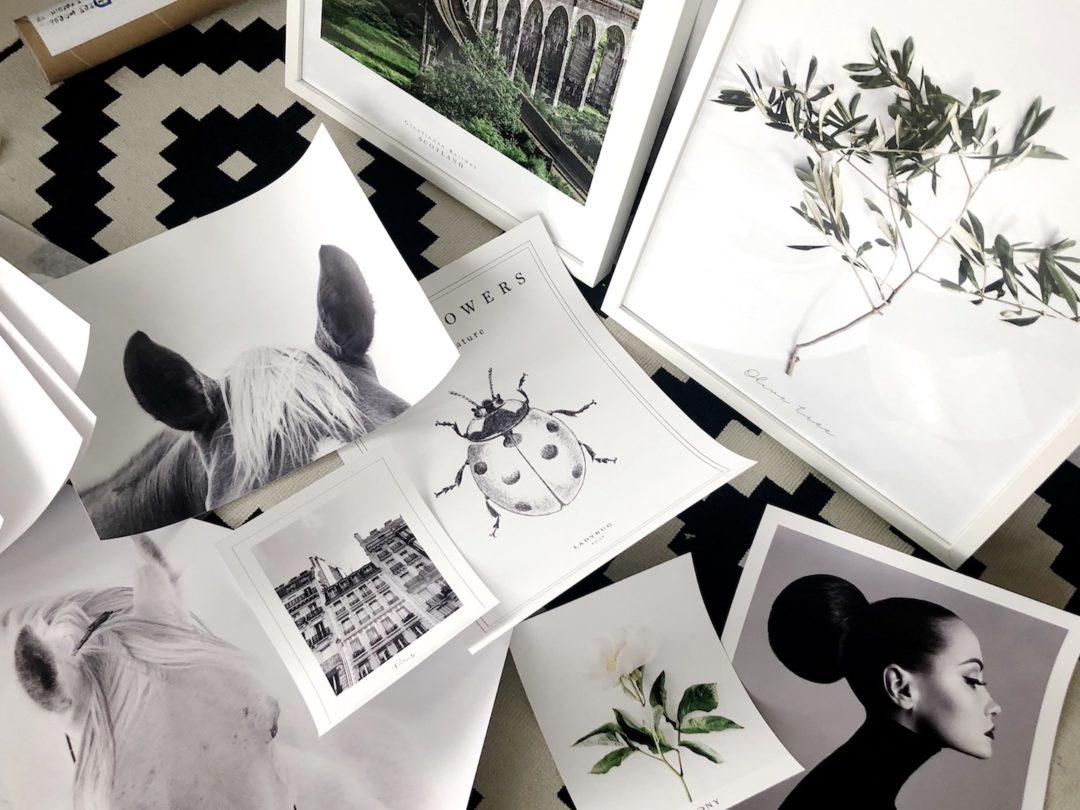 Blogstabrawa Galeria ścienna Czyli Dekoracja W 4 Krokach